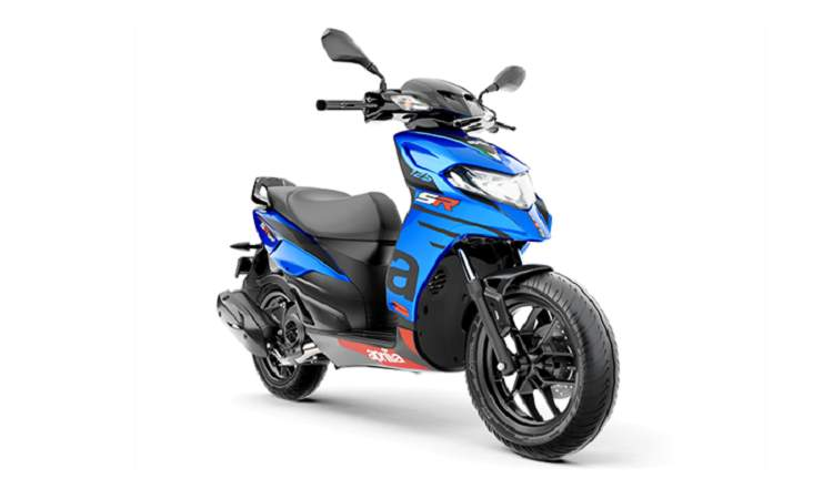aprilia sr 125 price mileage review aprilia bikes. Black Bedroom Furniture Sets. Home Design Ideas