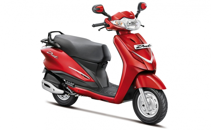 Honda 4 Wheelers Car >> Hero Duet Price, Hero Duet Mileage, Review - Hero Bikes