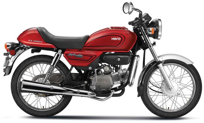 Hero Splendor Pro Classic Price Mileage Review Hero Bikes