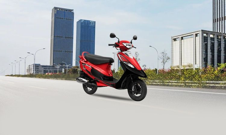 TVS Scooty Pep Plus Images