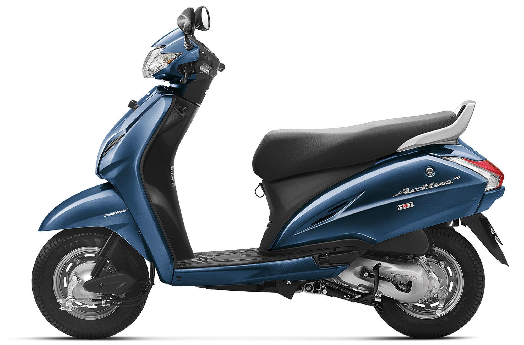 Honda Activa 3g Price Mileage Review Honda Bikes