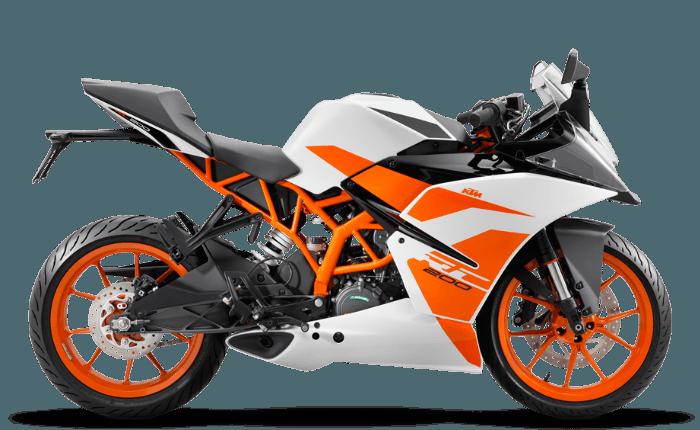 KTM RC 200 Price, Mileage, Review - KTM Bikes