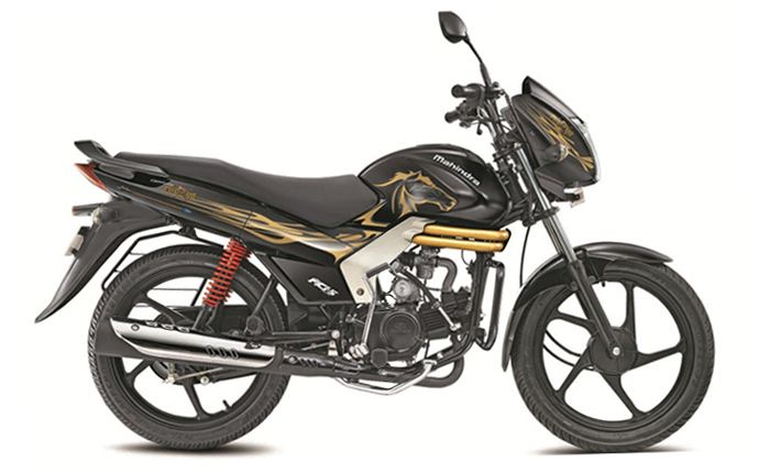 Mahindra Centuro Black And Gold