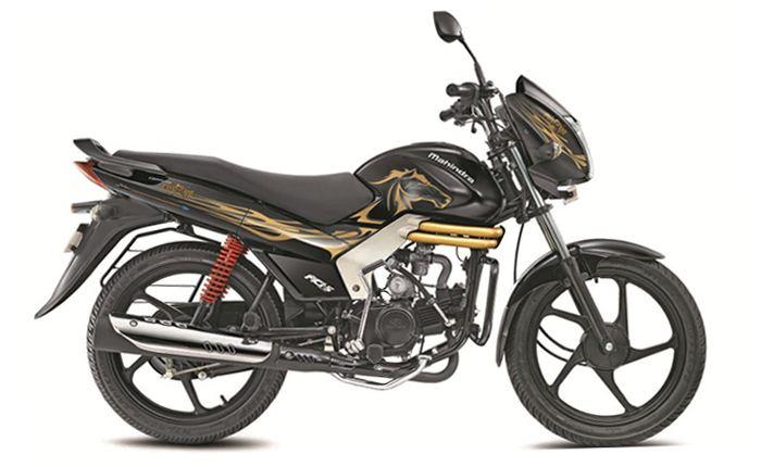 Mahindra Centuro Black And Gold