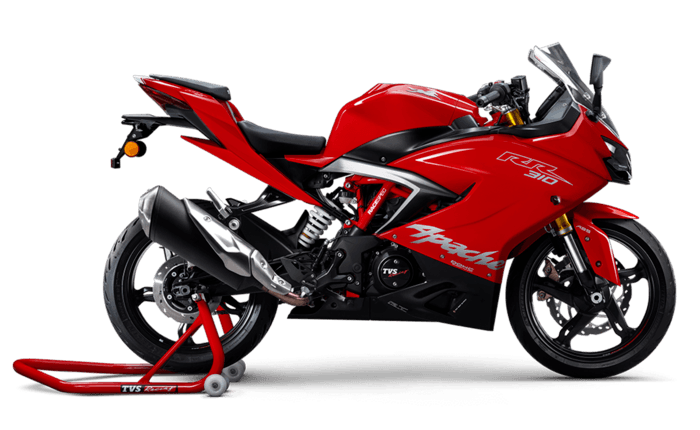 tvs apache rr 310 price mileage review tvs bikes