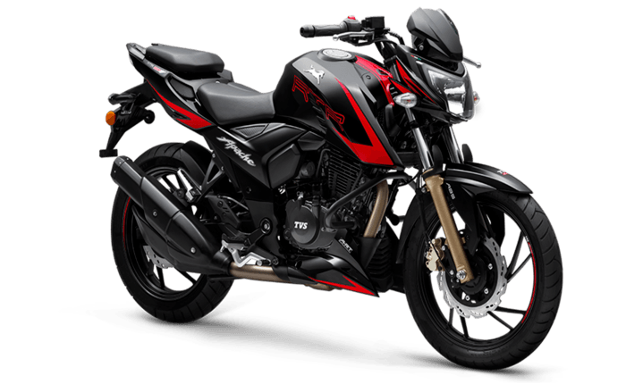 Tvs apache rtr 200 4v price mileage review tvs bikes for H and r motors