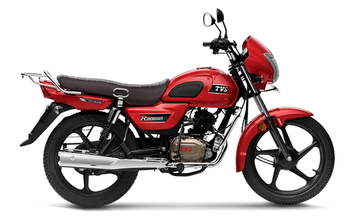 e49a885389 TVS Radeon Price, Mileage, Review - TVS Bikes