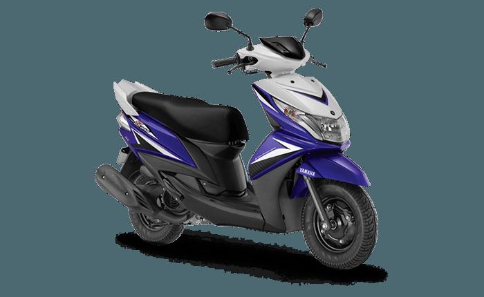 yamaha ray loan -true blue model