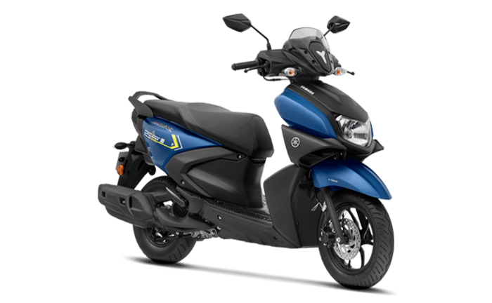 yamaha ray loan -dark matt blue model