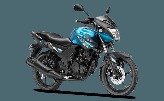 Yamaha SZ-RR bike Loan predator cyan model