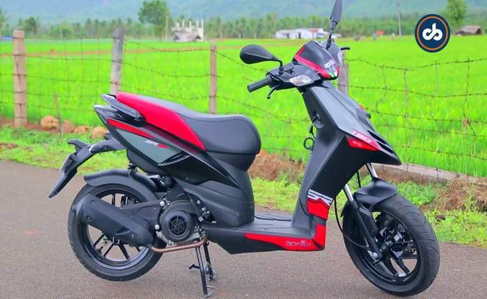 aprilia sr 150 price mileage review aprilia bikes. Black Bedroom Furniture Sets. Home Design Ideas