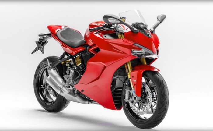 Ducati Supersport Front Profile