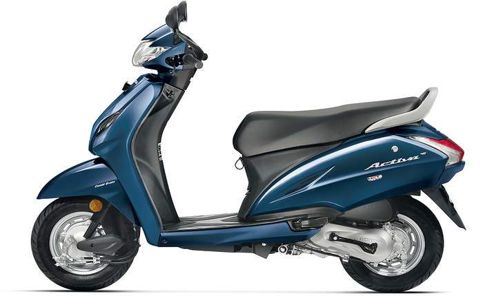 Honda Activa 4g Imperial Red Metallic