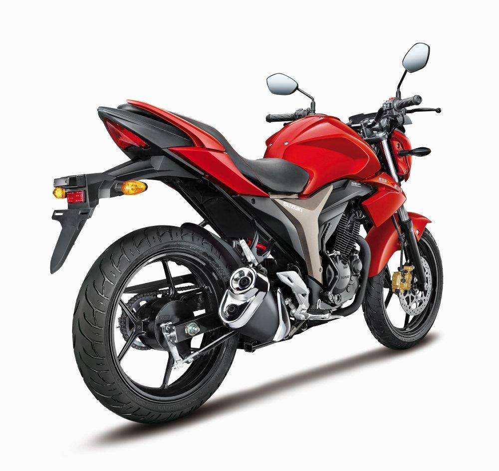 Top 5 150cc 160cc motorcycles in the country indian cars bikes - Dynamic Rear Red