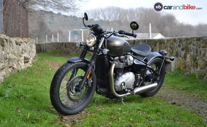 Triumph Bonneville Bobber Price Mileage Review Triumph Bikes
