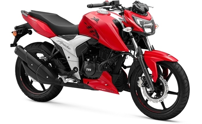 tvs apache rtr 160 4v price mileage review tvs bikes