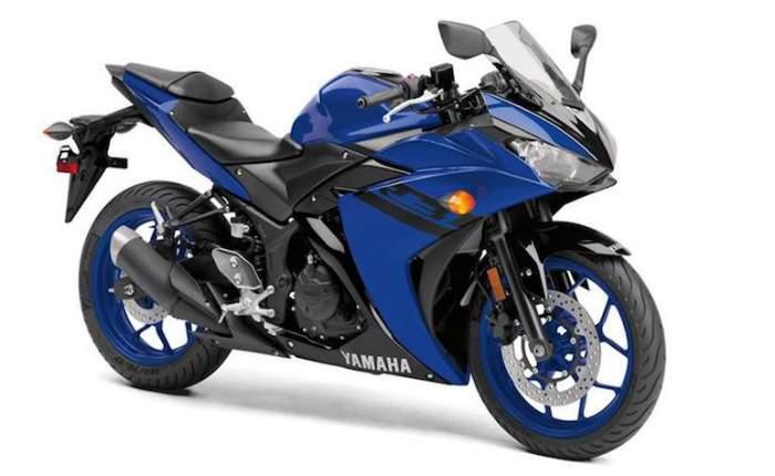 Great Yamaha Yzf R3 Racing Blue