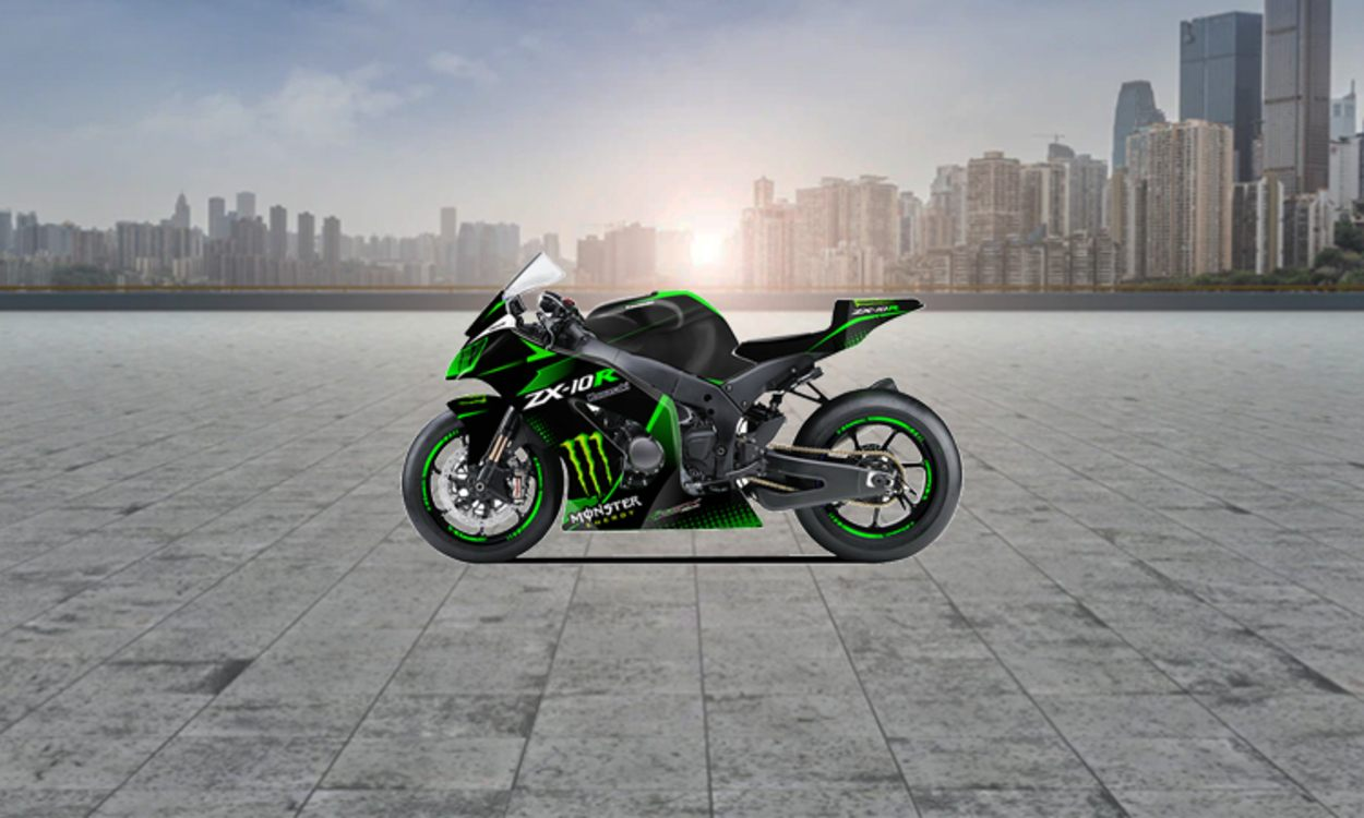 Kawasaki Ninja® ZX™-10R   Supersport Motorcycle   Race