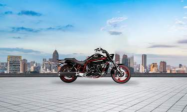 Harley vs Triumph king thunderbird road