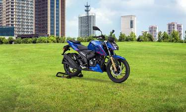 TVS Apache RTR 160 4V Launched In Colombia - NDTV CarAndBike