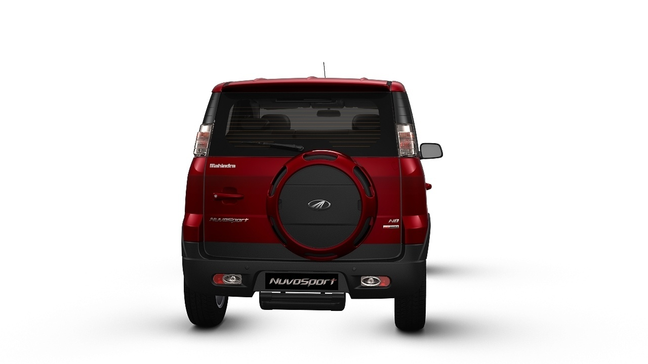 Car colour affects road safety - Mahindra Nuvosport Red Rage 19