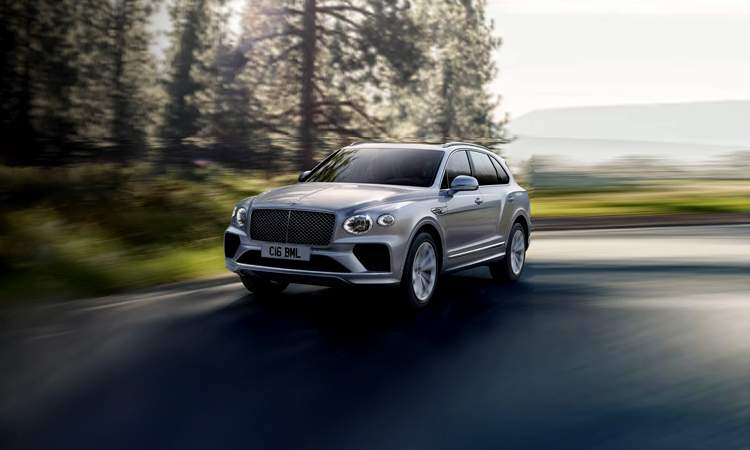 Bentley suv cost