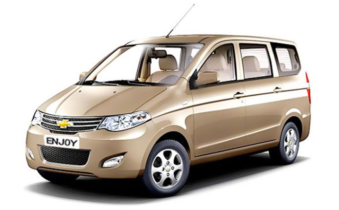Used Chevrolet Enjoy 1 3 Tcdi Ls 8 Seater In Pune 2014 Model India
