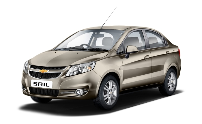 Car With Sail : Chevrolet sail base price in india features car
