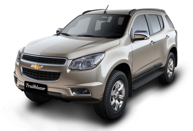 Chevrolet Trailblazer India Price Review Images