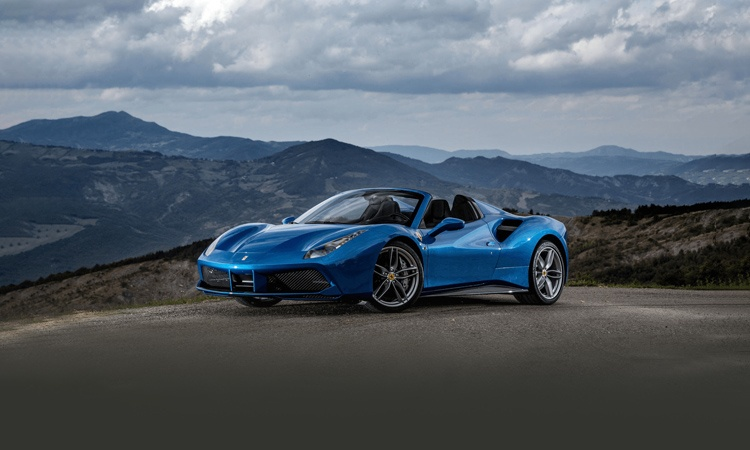 Superb Ferrari 488 Spider Images