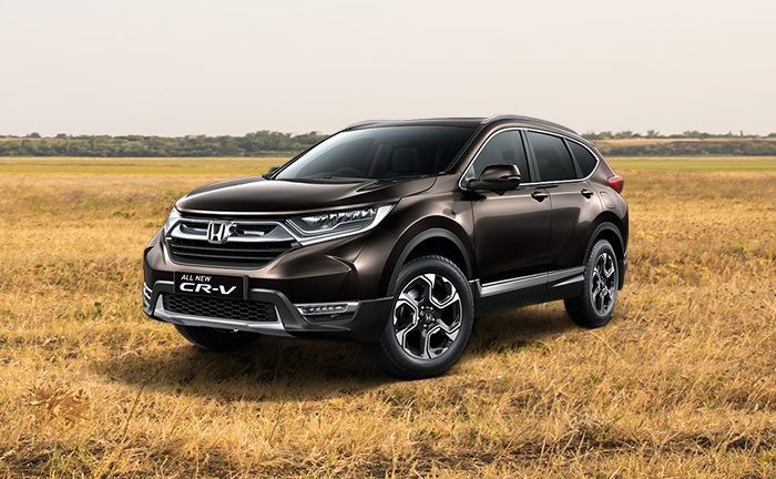 Honda cr v price in india images mileage features for Honda crv price