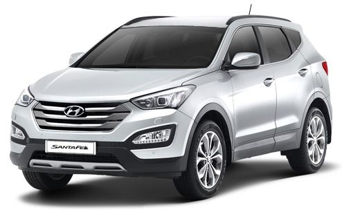 hyundai santa fe india price review images hyundai cars. Black Bedroom Furniture Sets. Home Design Ideas