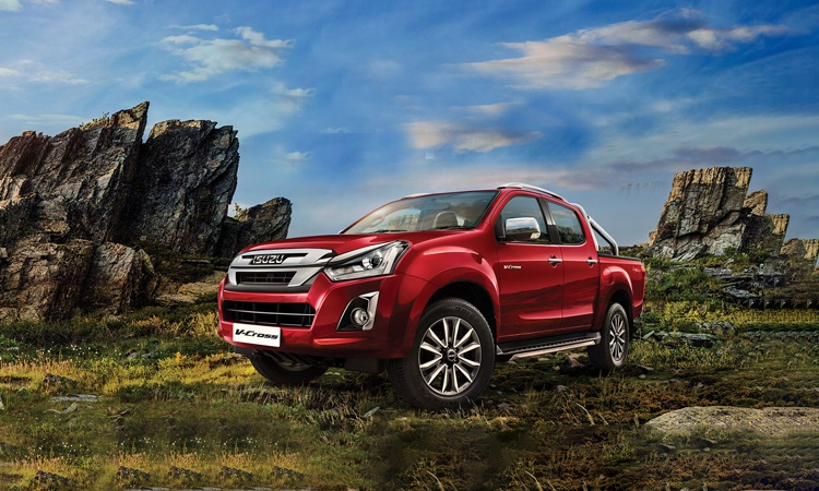 D Max Exhibition Models : Isuzu d max v cross price in india gst rates images