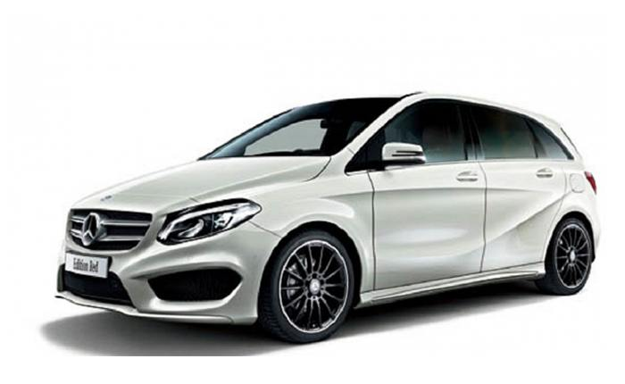 Mercedes benz b class price in india images mileage for Mercedes benz bclass
