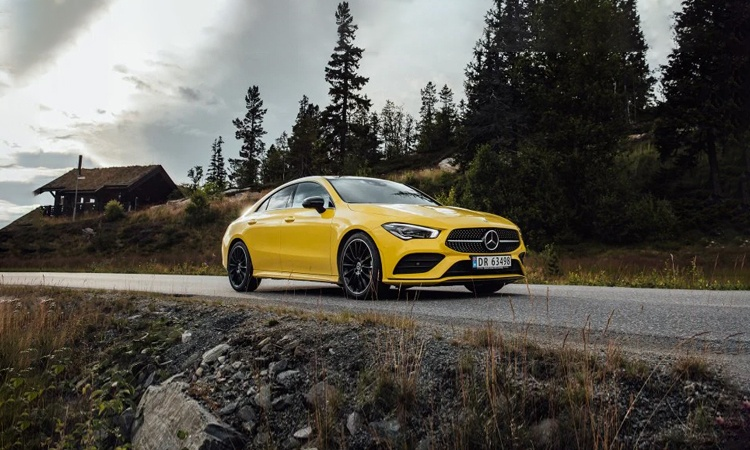 Mercedes Benz CLA Class 45 AMG. Last Recorded Price