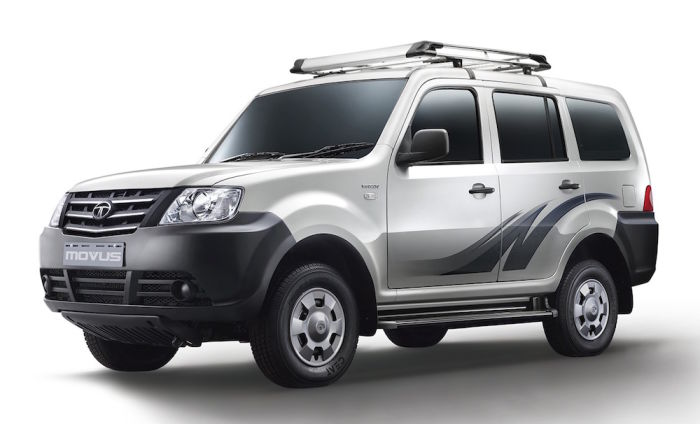 Used Tata Movus Lx 7 Seater Captain Front Facing Bs4 In Lucknow