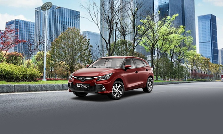 toyota glanza price in india images mileage features. Black Bedroom Furniture Sets. Home Design Ideas