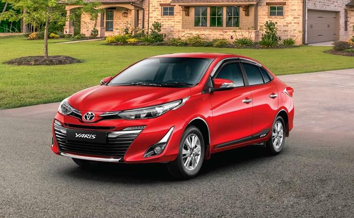 Toyota yaris cost