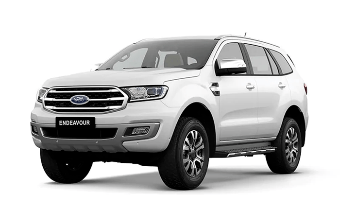Ford Endeavour Diamond White
