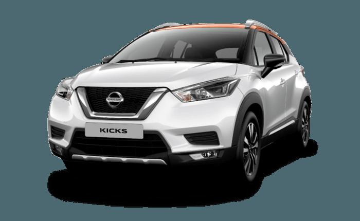 Nissan White Car