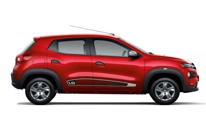 Renault Kwid Fiery Red