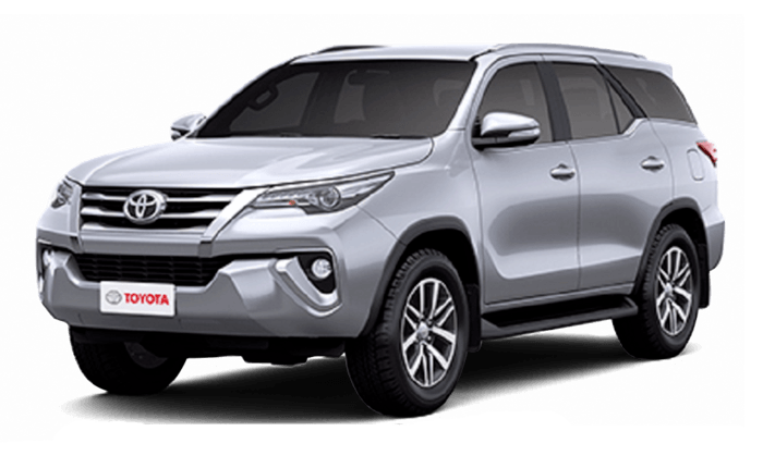 toyota fortuner modern grey metallic