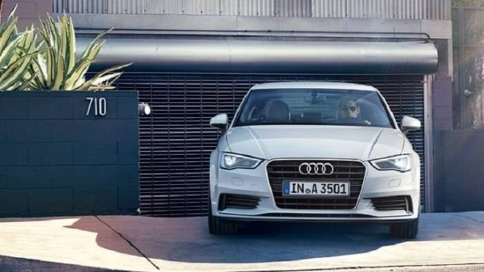 Audi A3 Front View