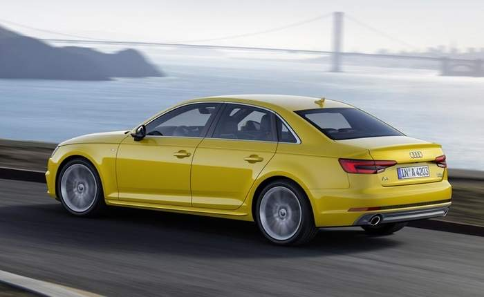 Good Audi A4 Runing Side