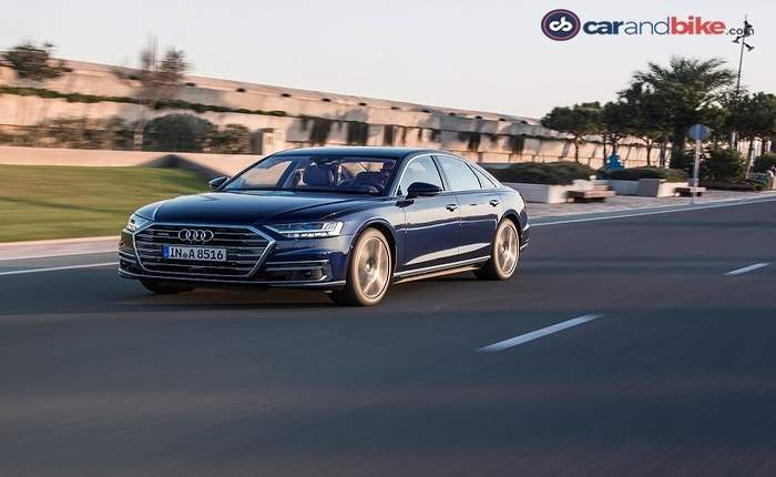 Audi A8 Runing