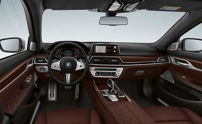Bmw 7 series 750li design pure excellencecbu price for Bmw serie 7 interieur