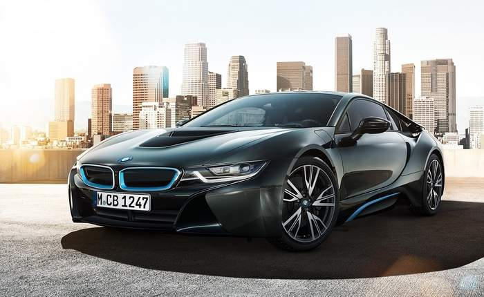 Bmw I8 Front 3 4th View