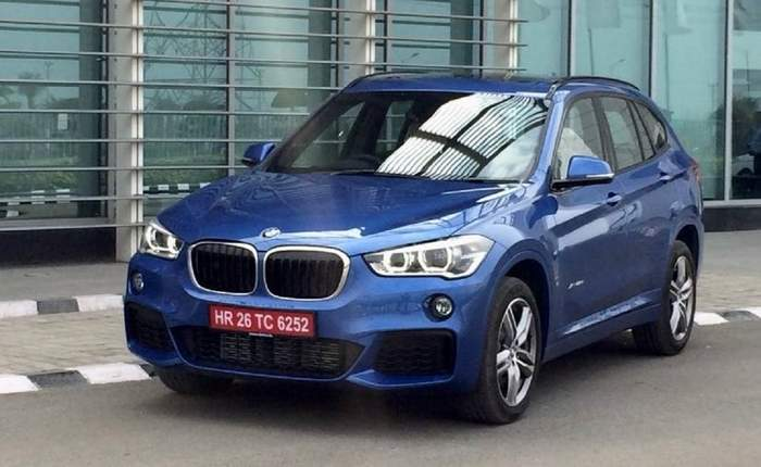 Bmw X1 Front Profile