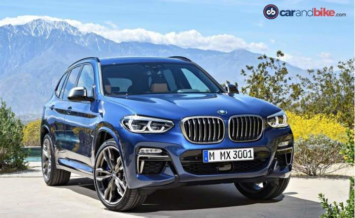 New Bmw X3 Front Profile