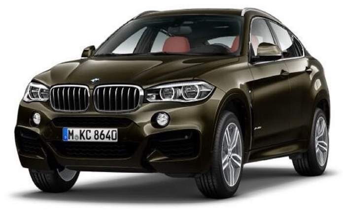 Bmw X6 Front Front New